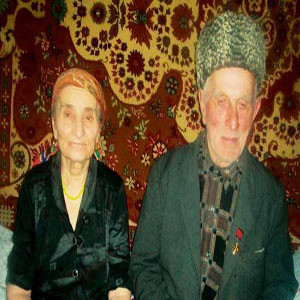Mady Bakhmadov and his wife